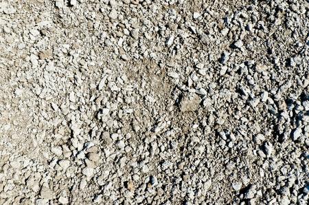 Closeup dirty ground photo