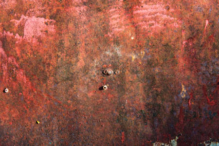corrosion: Old corrosion steel plate Stock Photo