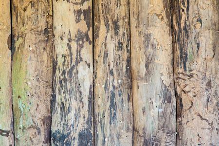 Rough old hardwood planks Stock Photo