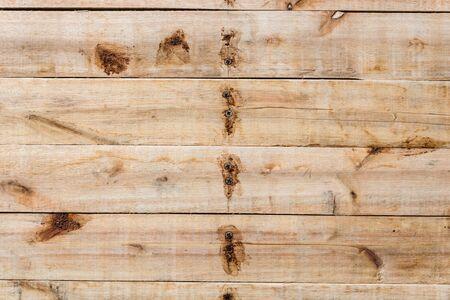 Closeup new hardwood plank