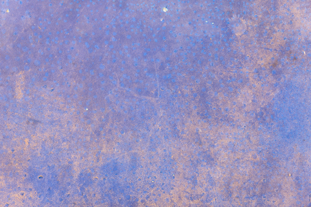 Closeup old blue wall