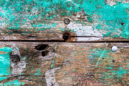 Old rusty color hardwood plank closeup for background