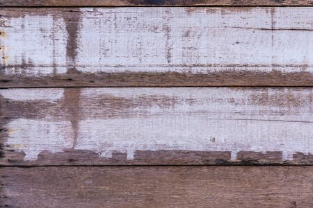 Closeup image of old color hardwood plank for background Stock Photo