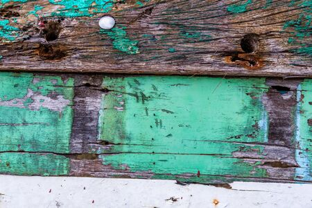 hardwood planks: Old rusty color hardwood planks for background user Stock Photo