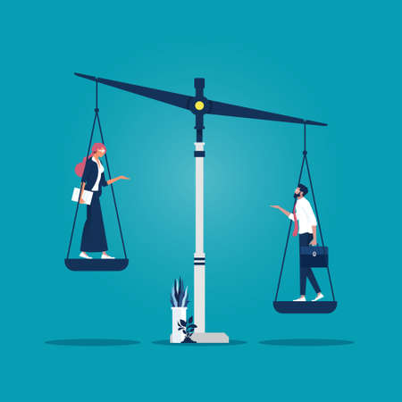 Inequality and feminism. Social inequality between women and men, on the scales of justice