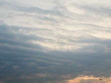 padding: Dark Sky,Light shining, sunset,  The sky is dark