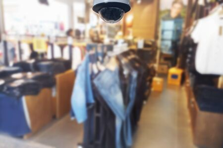 slacks: blurred photo, Blurry image,inside of the clothes shop,background