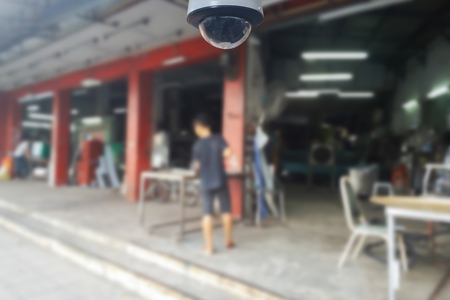 blurred photo, Blurry image, Stainless steel factory,background