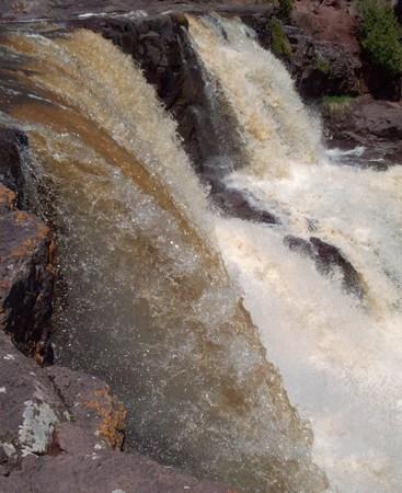 gooseberry: Gooseberry Waterfall Stock Photo