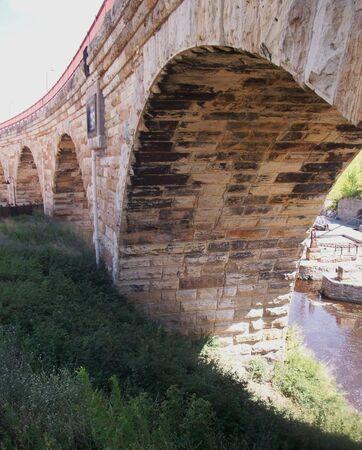 stone arch: Stone Arch Bridge In Minneapolis Minnesota