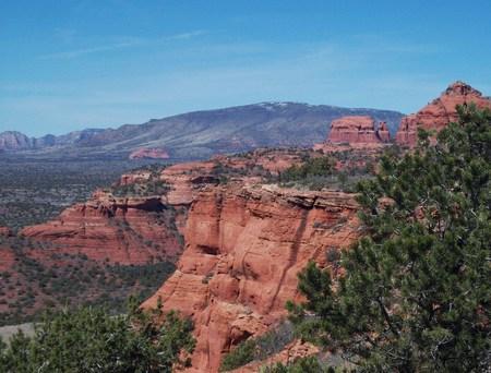 red rocks: Red Rocks In Sedona Arizona