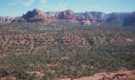 red rocks: Red Rocks Landscape In Sedona Arizona