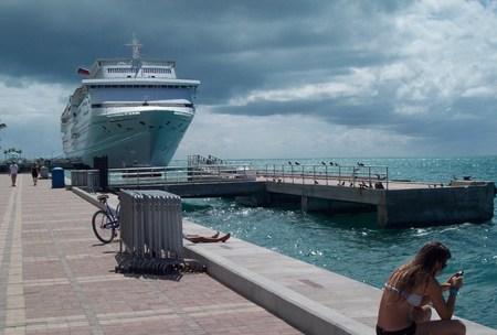 key west: Cruise Ship In Key West