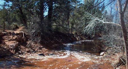 sedona: River Crossing In Sedona Arizona