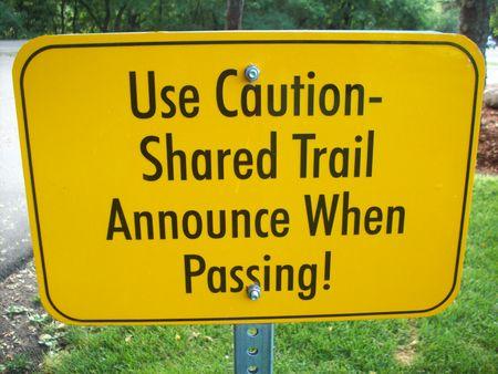 Trail Sign Stok Fotoğraf