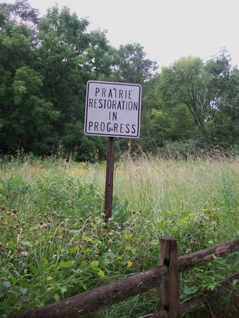 Prairie Restoration Banco de Imagens