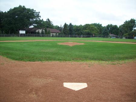 Baseball Field Archivio Fotografico - 44004235