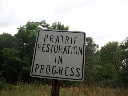 Prairie Restoration Site