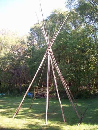 teepee: Teepee Stock Photo