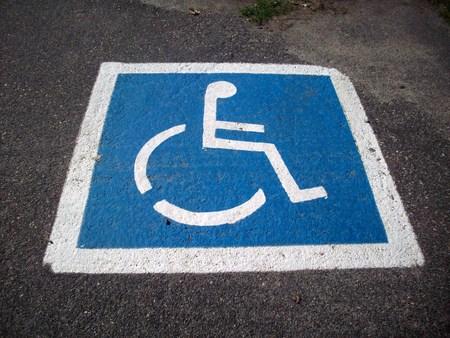 Handicap Parkeerplaats