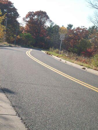 empty: Empty Road Stock Photo