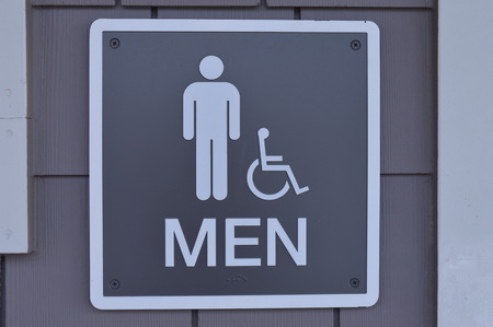 bathroom: Bathroom Sign