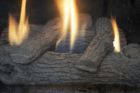 fire place: Fire in Fire Place