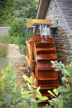 Water Wheel Stock fotó