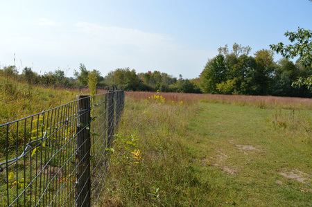 Fence in the prairie