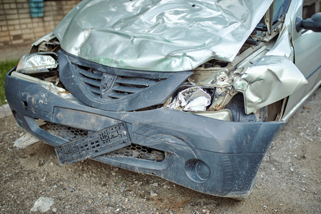 Repair of the car after an accident on the insurance service. Redakční