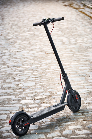 Electric scooter economical vehicle in the city for every day.