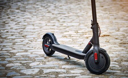 The electric scooter is the most environmentally friendly means