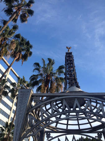 hollywood   california: Hollywood, California Editorial