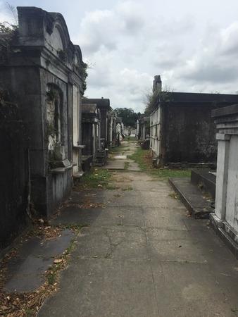 Lafayette Cemetery No. 1 in New Orleans, Louisiana
