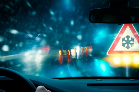 rijden in de winter