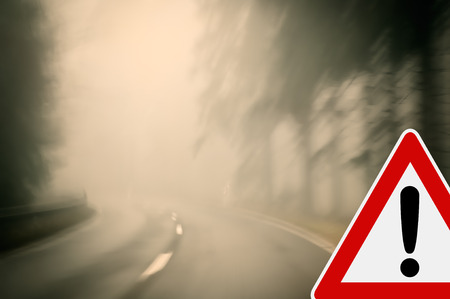 Bad weather driving photo