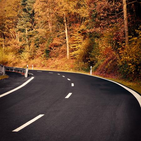 road autumnal: Autumn Road