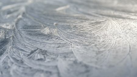 Abstract Background Ice - Ice Covered Car Roof photo