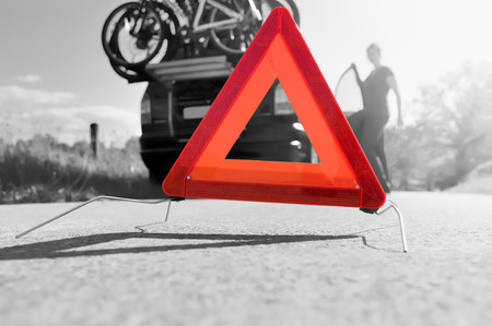 car trouble: Caution - Car Trouble on a Holiday trip