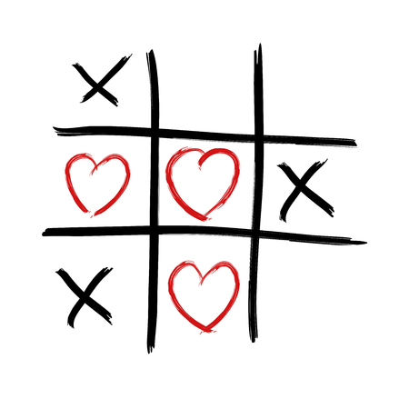 tic tac toe: Tic Tac Toe - Love wins