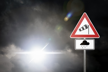 heavy risk: Bad Weather - Caution - Risk of Storm and Heavy Rain