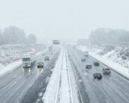 Winter Driving - Commuter Traffic