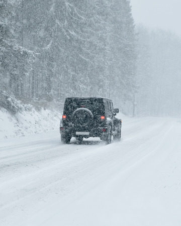 wheelspin: Winter Driving - Winter Road