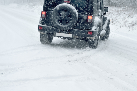 drifting ice: Winter Driving - risk of snow and ice - drifting