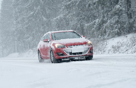 winter road: Winter Driving - Winter Road