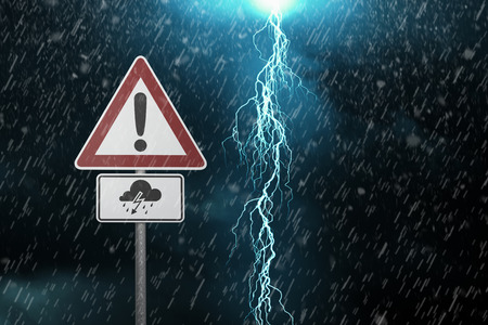 storms: Caution - Thunderstorm