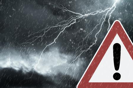 Caution - Thunderstorm