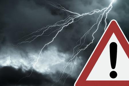 thunderstorm: Caution - Thunderstorm