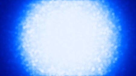 Beautiful blue bokeh background - digitally generated image Stok Fotoğraf