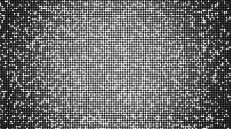 LED panel-like party, disco and celebration background - alpha overlay - digitally generated image